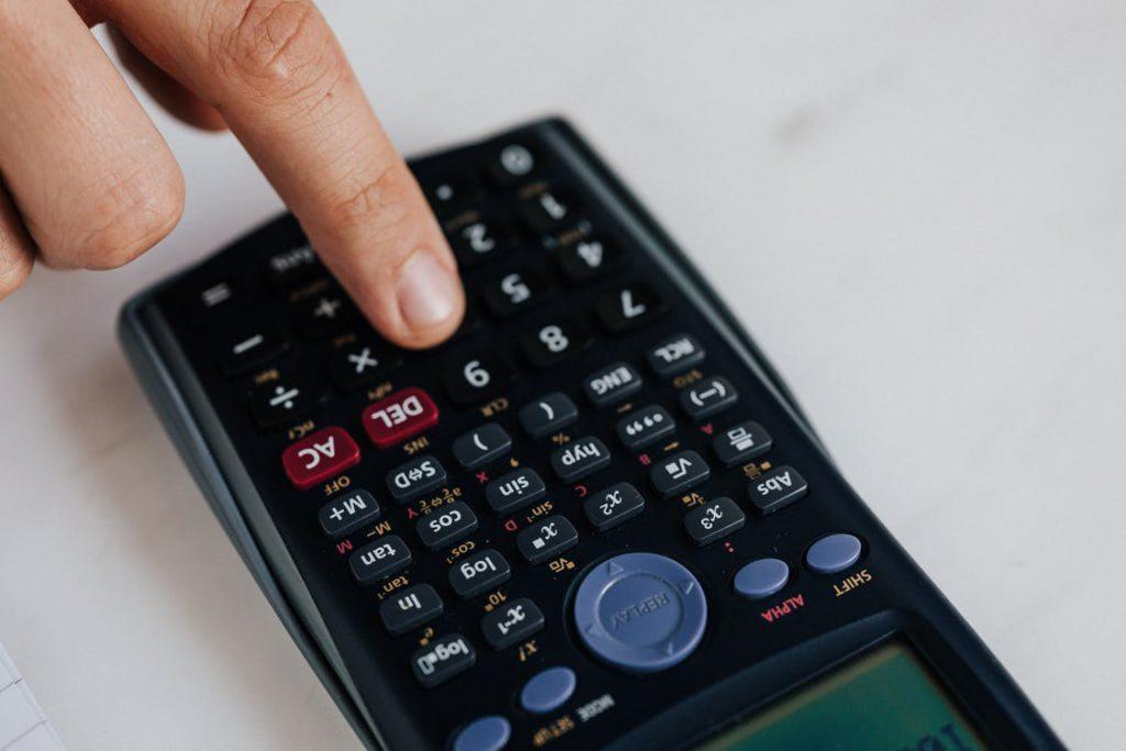calculadora cuentas